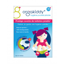 Orgakiddy protège cuvette jetable x 10