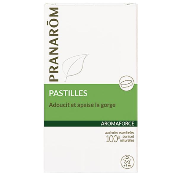 Pranarôm aromaforce 21 pastilles pour la gorge