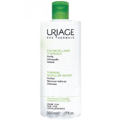 Uriage eau micellaire thermale peaux mixtes à grasses 500ml