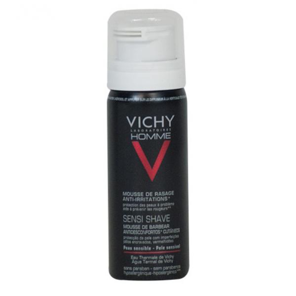 Vichy Homme Mousse à Raser Anti-Irritations 50 ml
