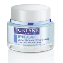 Orlane Hydralane Crème Hydratante Sans Huile Peaux Mixtes 50ml