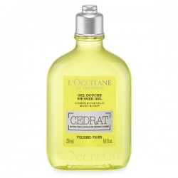 Occitane gel douche cedrat