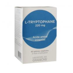 Granions l-tryptophane 60 gélules