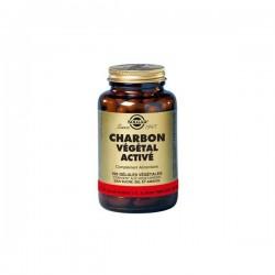 Solgar Charbon végétal activé 100 gélules
