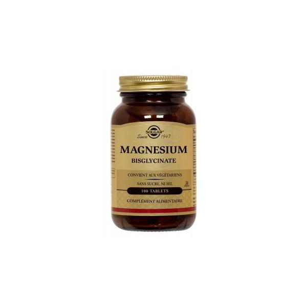 Solgar Magnesium Bisglycinate 100 tablettes