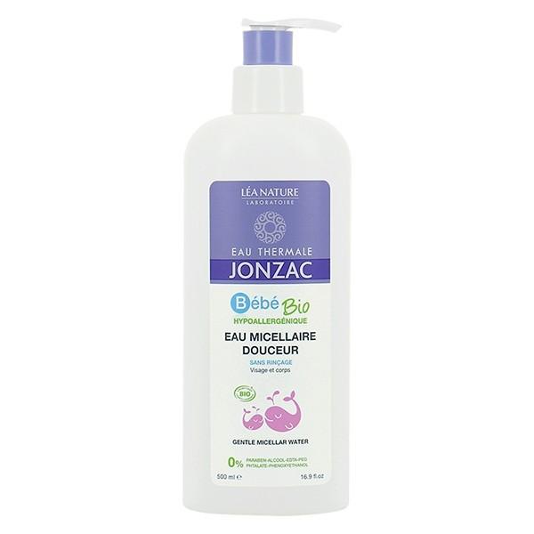 Jonzac Bébé eau micellaire bio 500ml