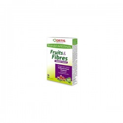 Ortis Fruits&Fibres 30 comprimés