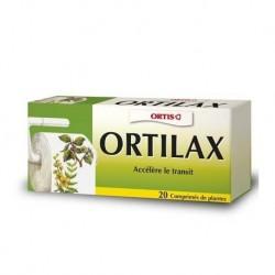 Ortilax transit boite de 20 comprimés