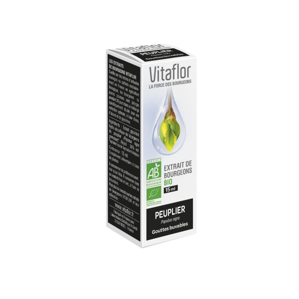 Vitaflor biobourgeon peuplier noir 15ml