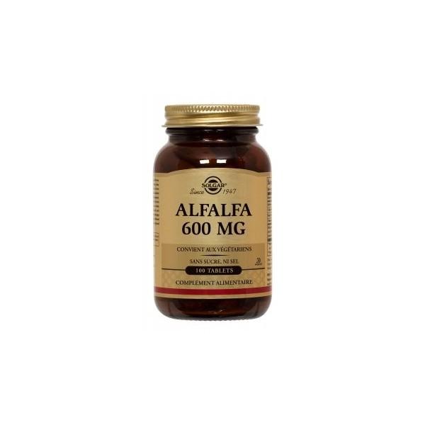 Solgar Alafalfa 100 tablettes