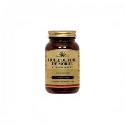 Solgar huile foie de morue 250 softgels