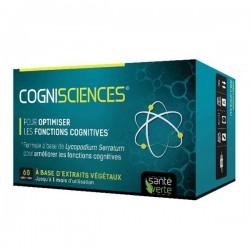 Santé verte cogni'sciences amélioration mémoire et concentration 60 comprimés