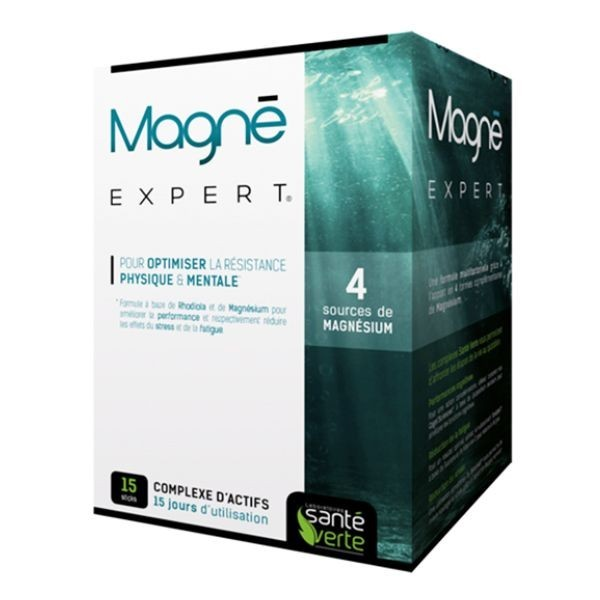 Santé verte magné expert 15 sticks
