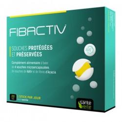 Vibactiv santé verte probiotiques encapsulés 20 sticks