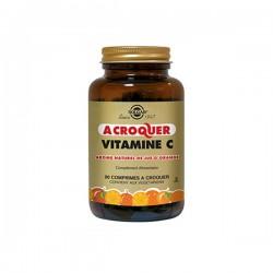 Solgar Vitamine C 500mg à croquer saveur orange 90 comprimés
