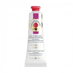 Roger&Gallet gel mains purifiant gingembre rouge 30ml