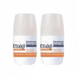 Etiaxil déodorant douceur 48h lot de 2x50ml