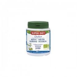 Super diet quatuor mélisse sommeil paisible bio 150 gélules