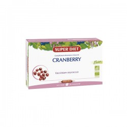 Super diet cranberry (canneberge) bio 20 ampoules
