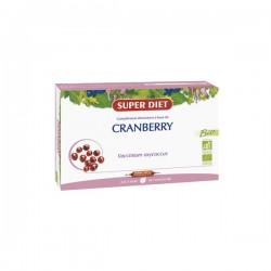 Super diet cranberry (canneberge) bio 20 ampoules