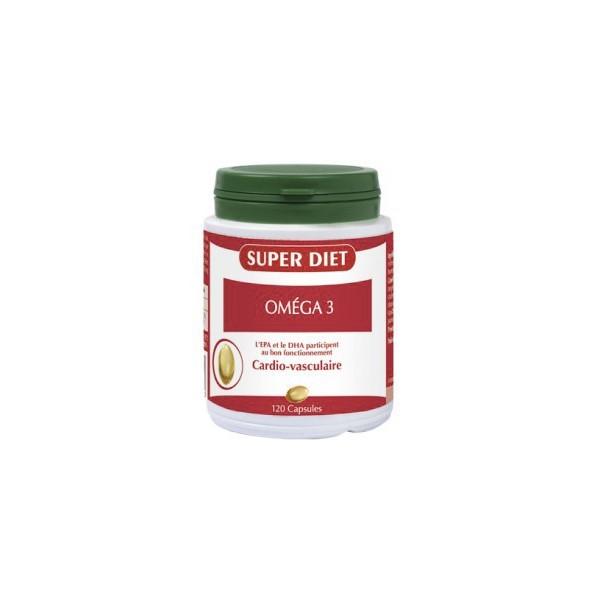 Super diet omega 3 cardio-vasculaire 120 gélules