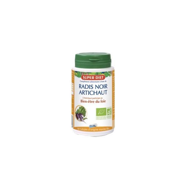 Super diet radis noir artichaut bio bien-être du foie 90 gélules
