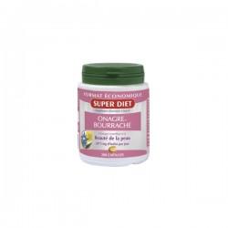 Super diet huiles d'onagre et de bourrache beauté de la peau 200 capsules