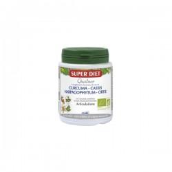 Super diet quatuor curcuma articulations bio150 gélules