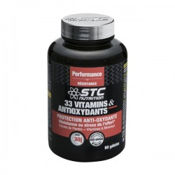 STC nutrition 33 vitamins & antioxydants 90 gélules