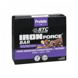 STC nutrition iron force barre protéinée 5x35g