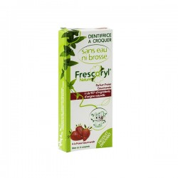 Frescoryl dentifrice à croquer fraise x10