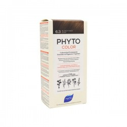 Phyto color Kit de coloration permanente 6.3 blond foncé doré