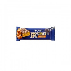 Apurna barre hyperprotéinées crunchy caramel 16g