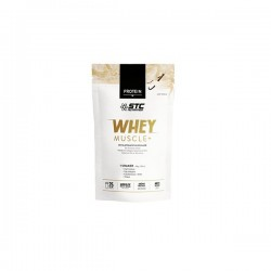 STC Nutrition whey muscle + proteine vanille 750g