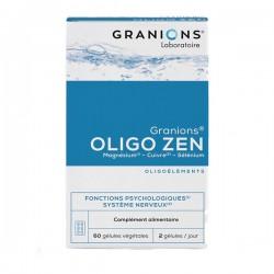 Granions oligo zen magnesium 60 gélules