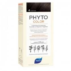 Phytocolor couleur soin 4 châtain violine intense 100ml