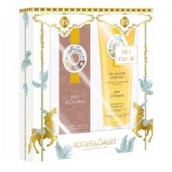 Roger & Gallet coffret bois d'orange eau parfumée 30ml et gel douche 50ml
