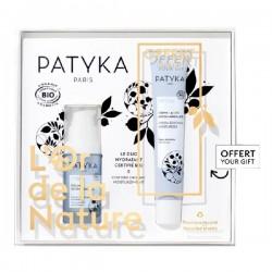 Patyka coffret l'or de la nature duo hydratant sérum et crème bio
