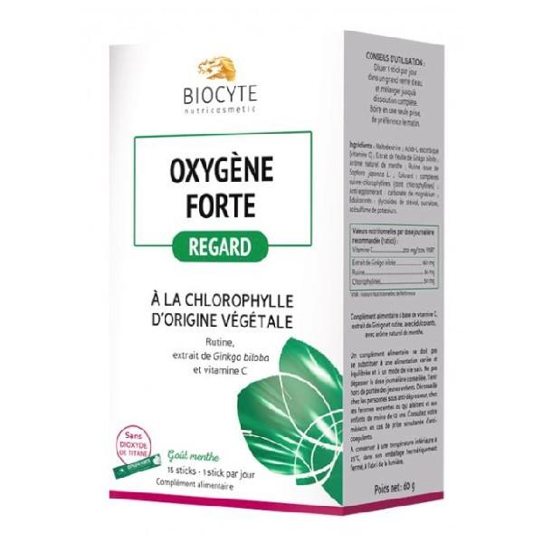 Biocyte oxygene forte anti cernes et poches sous les yeux
