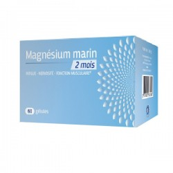 Prescription nature magnesium marin 300mg 60 gélules
