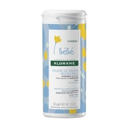 Klorane poudre de toilette protectrice au calendula flacon 100g
