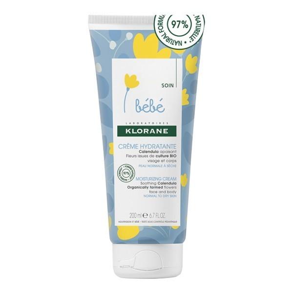 Klorane crème hydratante bébé au calendula 40ml