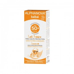Alphanova crème solaire bébé bio indice 50+ 50ml