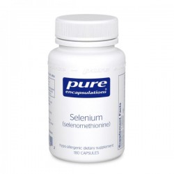 Pure encapsulations sélénium 55 sélénométhionine