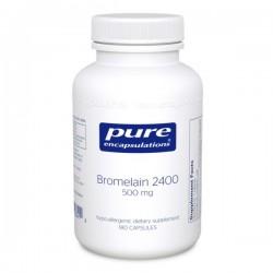 Pure encapsulations bromelain 2400 500mg