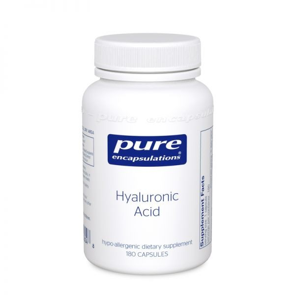 Pure encapsulations acide hyaluronique 180 capsules
