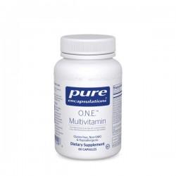 Pure encapsulations one multivitamin 60 capsules