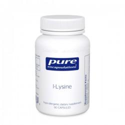 Pure encapsulations l-lysine 90 capsules