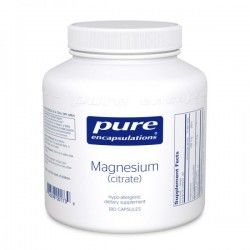 Pure encapsulations citrate de magnésium