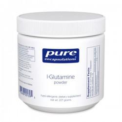 Pure encapsulations l-glutamine en poudre 227g